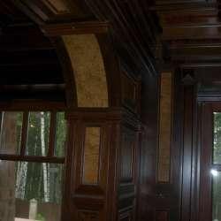 Интерьеры из дерева