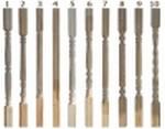 Балясины из лиственницы 50x50мм (сорт А)