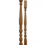 Балясина из термо-дуба 50ЛИ